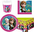 Disney Frozen Party Tableware pack for 8
