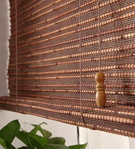 WUFENG Custom Made Bamboo Roll Up Window Blind Store Bateau En Bambou Store Anti-regard En Bambou Anti-insect Curtains Para Puertas Balcony Living Room Tea Room Sunshade Curtain store bateau en bambou ( taille : 90*150cm )