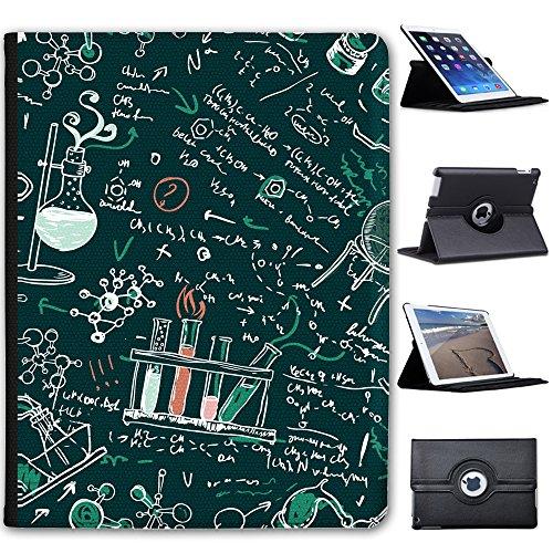 Fancy A Snuggle Wissenschaftliche Formeln & Kreidezeichnung Case Cover/Folio aus Kunstleder für Das Apple iPad 2, 3 & 4