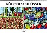 Kölner Schlösser - surreal ins Licht gestellt (Wandkalender 2019 DIN A3 quer): Kölscher Brauch. Liebesschlösser an der Hohenzollernbrücke. (Monatskalender, 14 Seiten ) (CALVENDO Kunst)