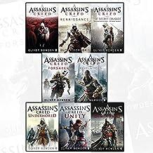 assassins creed by oliver bowden 8 books collection set - renaissance, the secret crusade, revelations, forsaken, brotherhood, black flag, unity, underworld