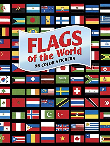 Flags of the World: 96 Color Stickers (Dover Stickers) por A G Smith