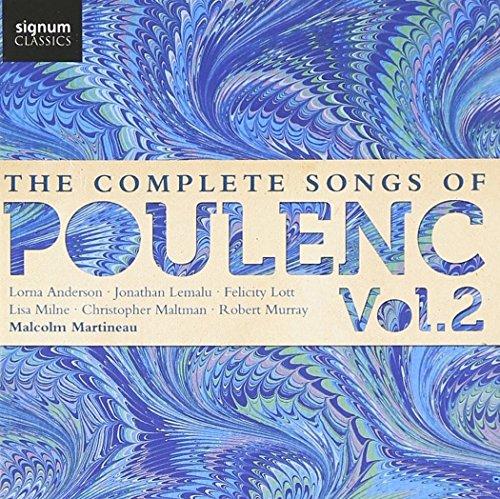 Poulenc : Intégrale des Mélodies Vol.2