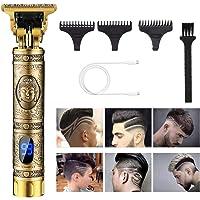 Guijiy Haarschneidemaschine Profi Haarschneider Herren Haartrimmer Bartschneider Barttrimmer T Blade Outliner Trimmer…