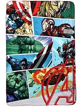 Cerdá Avengers, Calentadores para Niños (Gris 13), 105 x 200 cm