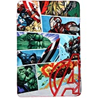 Marvel Avengers Comic Book Polar Fleece Decke, Polyester, mehrfarbig, Single