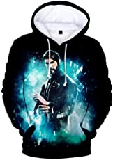 Diudiul Jungen Streetwear Pullover Mit 3D Fortnite Gedruckt Pulli Jumper Kapuzenpullover