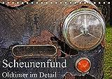 Scheunenfund - Oldtimer im Detail (Tischkalender 2019 DIN A5 quer): Scheunenfund eines Oldtimers im Detail, hier u.a. ei