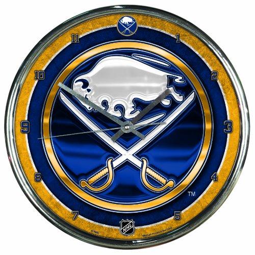 Wincraft NHL Chrome Uhr, 30,5x 30,5cm, Buffalo Sabres, Einheitsgröße