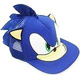 Sonic the Hedgehog Anime Series Cosplay Gorra de béisbol ajustable Fiesta en la playa Concierto Gorra protectora solar