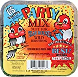 C. & S. Prod. 12513 Party Mix Suet Cake