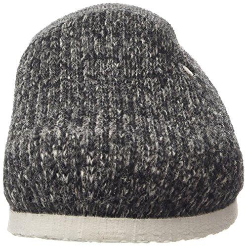Birki's Amsterdam Unisex-Erwachsene Clogs Grau (Wool Knit Gray)