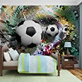 Papier Peint Photo Mural 3381P8 - Collection Sport - XXL - 368cm x 254cm - 4 Part(s) - Imprimé sur 115g/m2 papier mural