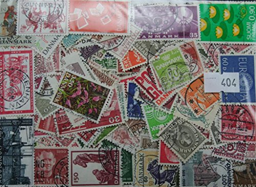 Packet of 300 Denmark stamps (404)
