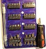 58 Tlg Werkzeug Torx set Flexibler Schraubendreher set Steckschlüssel mit Aufsätze Nuß Nüße mit flexiblen Schlauch