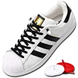 No Tie shoe Laces Elastic Silicone Strings Comfortable Stretch Fit 8 colors choice for Adults Kids Men Women 2 pairs 8 clips