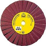KLINGSPOR 26033 FSR 618 Schleifmopräder 165 x 14 mm Korn 220 Einreihig 2 Lamellen pro Paket (Inhalt: 10)