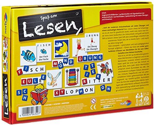 Noris-Spiele-606076340-Spa-am-Lesen-Kinderspiel