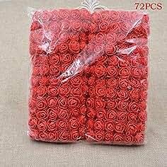 68bcdbcab53b kaimus Flores Artificiales de la Espuma del PE Fake Rose Bouquet DIY  Wedding Party Home Decoration