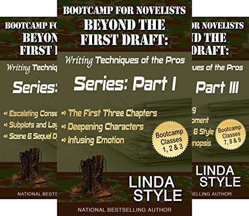 Bootcamp for Novelists Beyond the First Draft: Writing Techniques of the Pros Series (3 Book Series)
