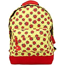 Mi-Pac Mini, Mochila Infantil, 33 cm, 10.5 Litros, Yellow / Red