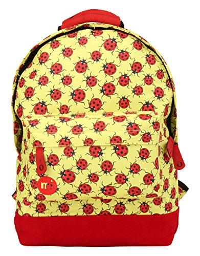 Mi-Pac Mini, Mochila Infantil, 33 cm, 10.5 Litros, Yellow / Red