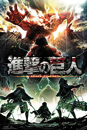 Póster Attack On Titan - Segunda temporada [Key Art] (61cm x 91,5cm)