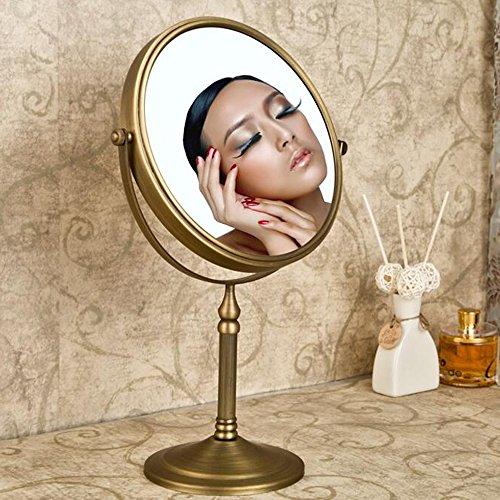 Weare Home Wohnzimmer Badezimmer stehen Retro Vintage Rustic geschnitzt schöner runder Spiegel aus...