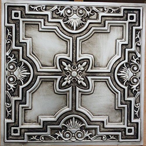 pl16-faux-finish-antique-silver-art-3d-ceiling-tiles-embossed-photosgraphie-coffee-bar-decoration-wa