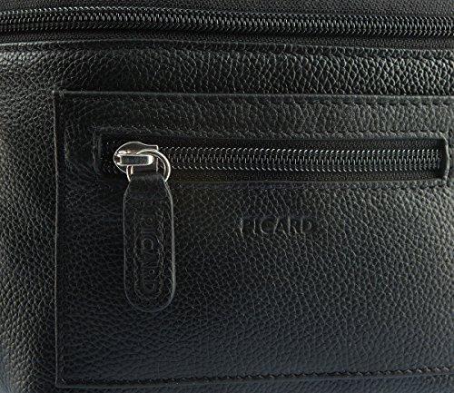 Picard Luis Gürteltasche Leder 30 cm schwarz