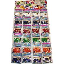 Gadgets Hut UK - 24bolsas de perlas de agua de cristal, bolas de biogel, para diversas decoraciones