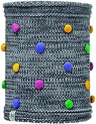 Original Buff - Knitted & Polar Fleece Neckwarmer, multicolor