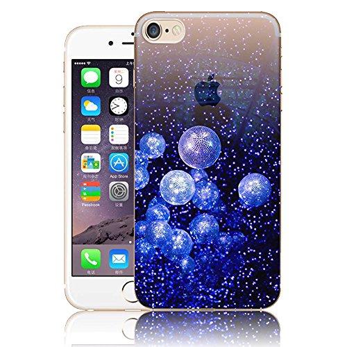 Art Coque pour iPhone 6 6S,Vandot iPhone 6 6S Case Paysage Creative Painting Peinture Housse de téléphone pour iPhone 6 6S Silicone modèle Cas Téléphone TPU Retour arrière Coque Bumper-Montagnes ennei ABC-10