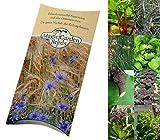 Saatgut Set: 'Permakultur', 8 Pflanzen für den Waldgarten als Samen in schöner Geschenk-Verpackung