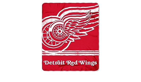 Nhl Fade Away Fleece Decke 152 X 127 Cm Detroit Red Wings Sport Freizeit