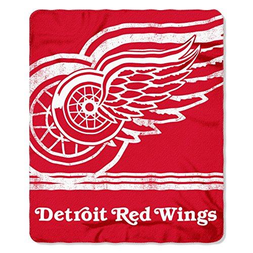 NHL FADE AWAY Fleece Decke 152 x 127 cm Detroit Red Wings