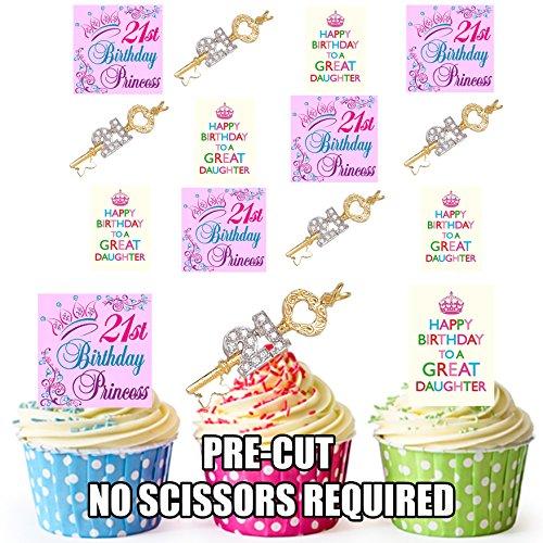 St Birthday Cake Toppers Amazon