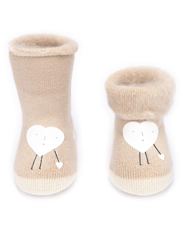 Adorel Calcetines Termicos de Felpa para Bebé Niña Lote de 6 4