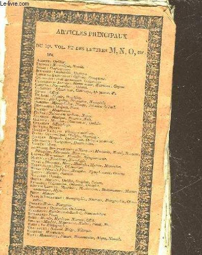 DICTIONNAIRE DES SCIENCES MEDICALES - TOME 34 - DE - MOLAIRE - A - MUSCLE par COLLECTIF