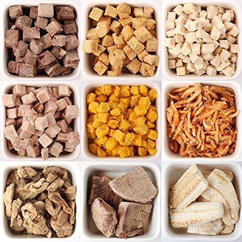Katze Hund Haustier Snacks Reines Fleisch Gefriergetrocknetes Katzenfutter Haarnadel Ernährung Mast 6 Aromen Geschmack Lebensmittel -