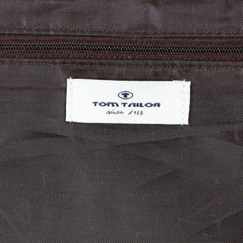 Tom Tailor Acc MIRIPU 10799 Damen Umhängetaschen 25x27x8 cm (B x H x T) Braun (cognac 22)