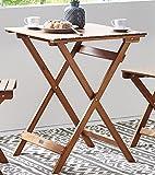 SAM Garten-Sitzgruppe 3tlg. Akazienholz geölt, FSC® 100% zertifiziert, 1x Tisch + 2x Stuhl, klappbar für SAM Garten-Sitzgruppe 3tlg. Akazienholz geölt, FSC® 100% zertifiziert, 1x Tisch + 2x Stuhl, klappbar