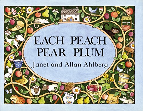 Each Pear Each Plum (Viking Kestrel Picture Books) por Allan Ahlberg