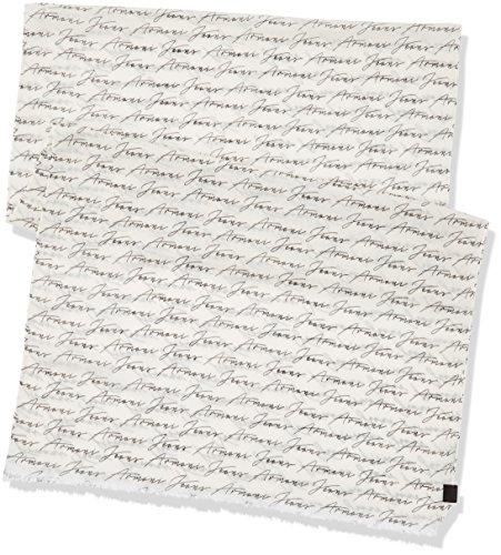 Armani Jeans Herren Schals 9340577p701 Weiß (BIANCO 00010)