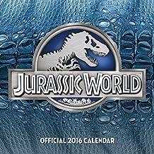 The Official Jurassic World 2016 Square Calendar