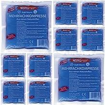 10 Stück Kalt Warm Kompressen Mehrfachkompressen Kältekompressen Kühlkompresse Kühlkissen 13 x 14 cm