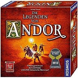 KOSMOS 691745 - Die Legenden von Andor, Kennerspiel des Jahres 2013 Kingdom Builder