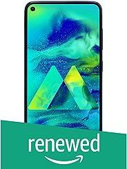 (Renewed) Samsung Galaxy M40 (Midnight Blue, 6GB RAM, 128GB Storage)