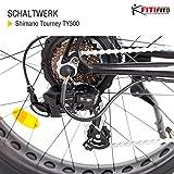 Fitifito FT26 Elektrofahrrad Fatbike E-Bike P...Vergleich