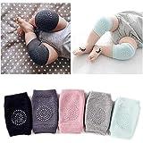 selinta pramukhhub 2 Pair Baby Knee pad Kids Safety Crawling Elbow Cushion Infant Toddlers Baby Leg Warmer Knee Support…